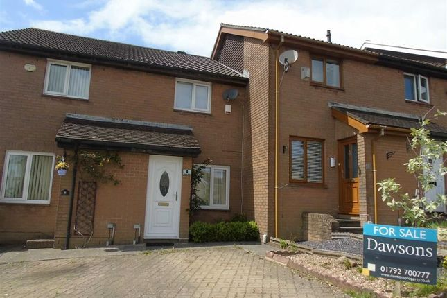 Thumbnail Terraced house for sale in Rhodfa Dryw, Parc Gwernfadog, Swansea