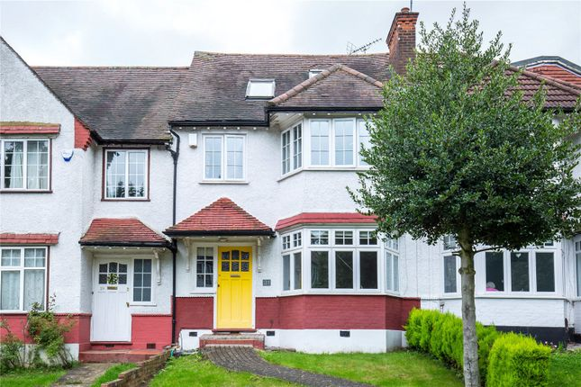 Thumbnail Terraced house for sale in Hamilton Way, West Finchley, London