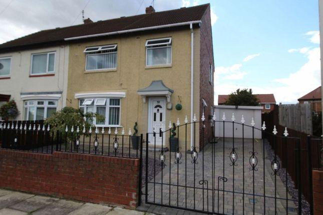 Thumbnail Semi-detached house for sale in Brixham Crescent, Jarrow