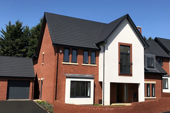 "Thumbnail Detached house for sale in ""Fern"" at Ark Royal Avenue, Exeter"