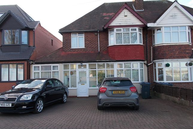 Thumbnail Semi-detached house for sale in Bromford Road, Hodge Hill