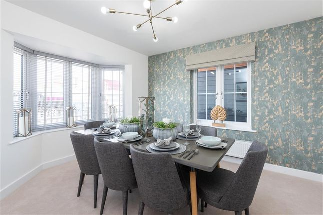 Thumbnail Detached house for sale in Peters Village, Evabourne, Wouldham, Rochester, Kent