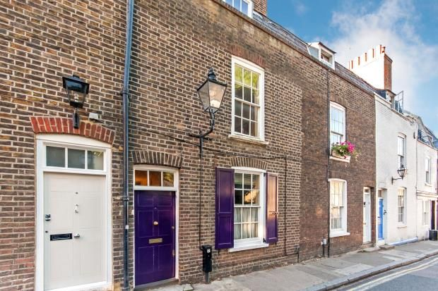 Thumbnail Terraced house for sale in Perrins Lane, Hampstead Village, London