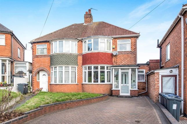 Thumbnail Semi-detached house to rent in The Rise, Great Barr, Birmingham
