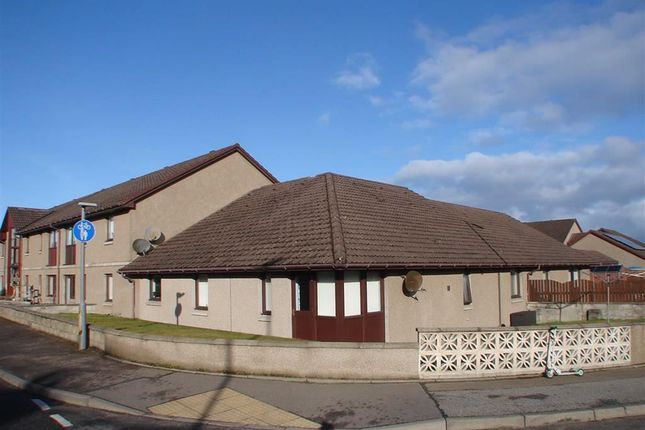 Thumbnail Terraced bungalow for sale in Lesmurdie Court, Elgin, Moray