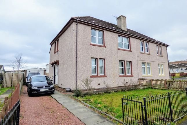 Thumbnail Flat for sale in Whitehill Crescent, Carluke