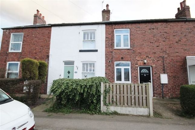 Thumbnail Terraced house to rent in Milton Place, Station Road, Hensall, Goole