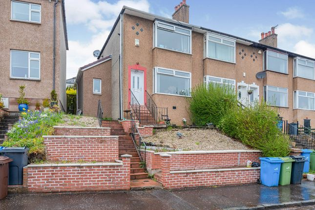 Thumbnail End terrace house for sale in Moray Drive, Stamperland, Glasgow