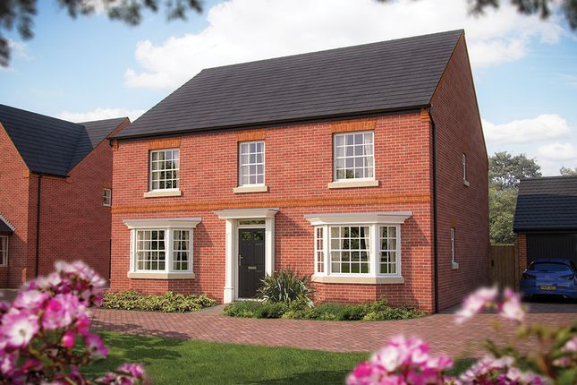"Thumbnail Detached house for sale in ""The Winchester"" at Larbourne Park Road, Flore, Northampton"