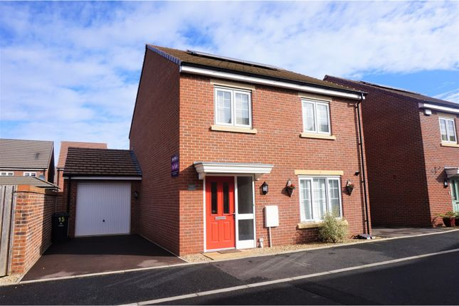 Thumbnail Detached house for sale in Canal Court Hempsted, Gloucester
