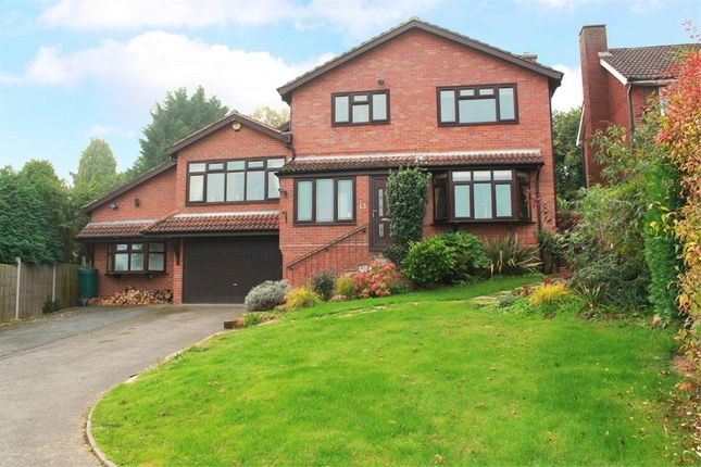 Thumbnail Detached house for sale in Huntsmans Close, Bridgnorth, Shropshire