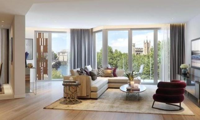 Thumbnail Flat for sale in Palace View, Lambeth High Street, Lambeth, London