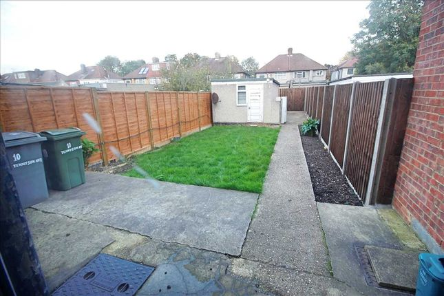 Rear Garden of Tennyson Avenue, Kingsbury, London NW9