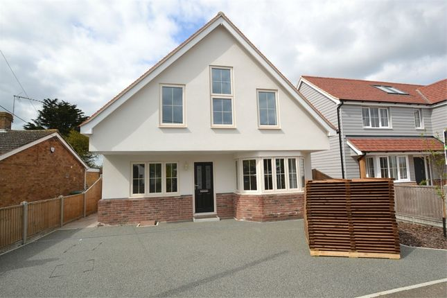 Thumbnail Detached house for sale in St Marys Road, Aingers Green, Great Bentley, Colchester, Essex