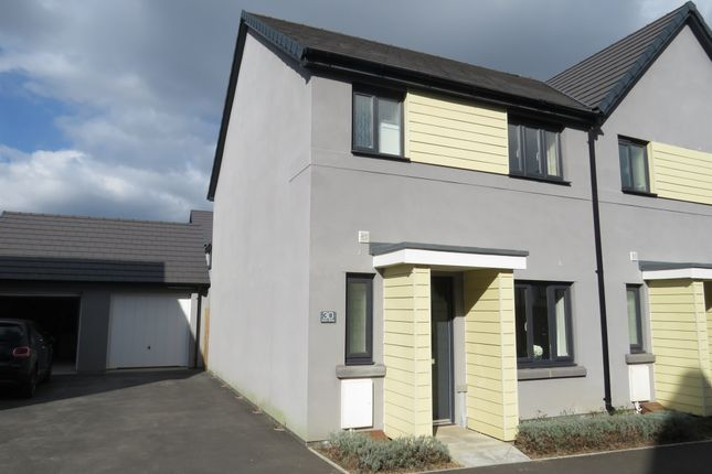 Thumbnail Semi-detached house for sale in Kilmar Street, Plymstock, Plymouth