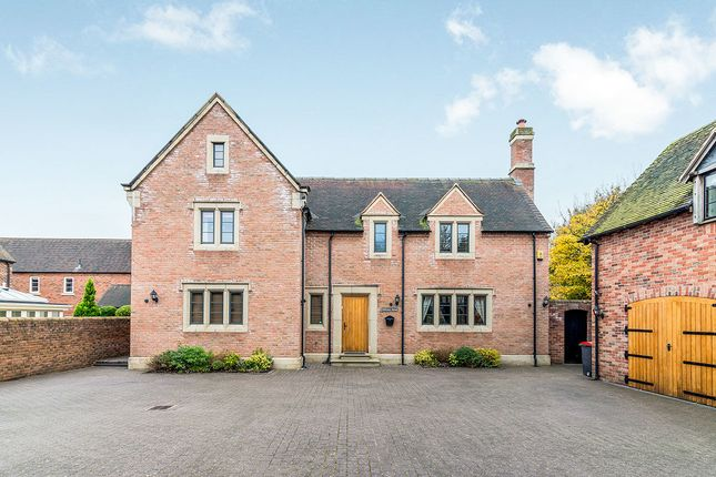 Thumbnail Detached house for sale in Arleston Manor Drive, Arleston, Telford