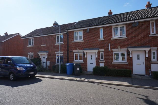 Thumbnail Terraced house to rent in Bull Road, Ipswich