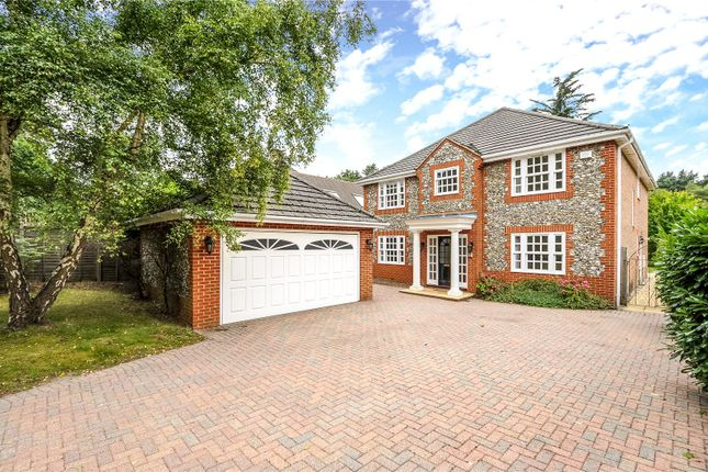 Thumbnail Detached house for sale in Long Hill Road, Ascot, Berkshire