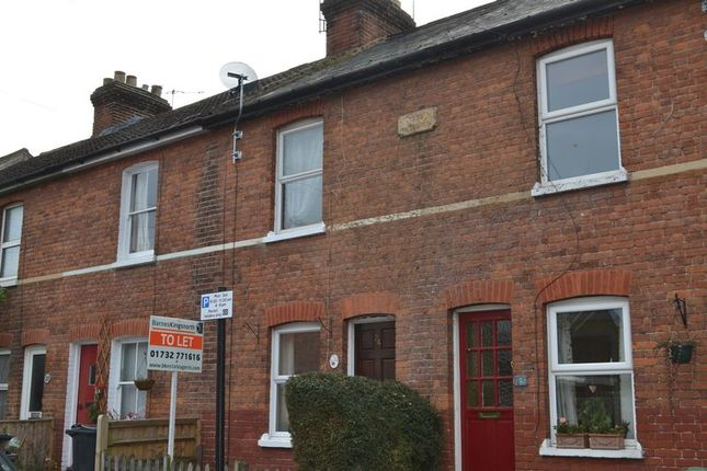 Thumbnail Terraced house to rent in Nelson Avenue, Tonbridge