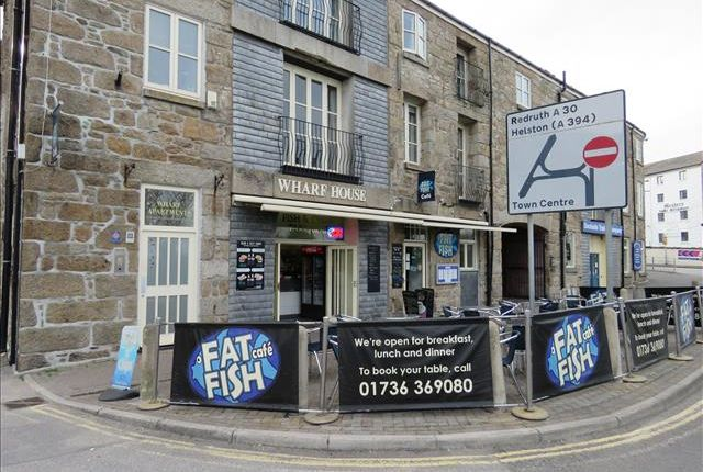 Thumbnail Restaurant/cafe to let in Fat Fish Cafe, Wharf House, Wharf Road, Penzance, Cornwall
