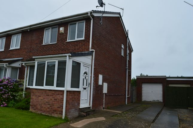 Thumbnail Semi-detached house for sale in Picketson Close, St Athan