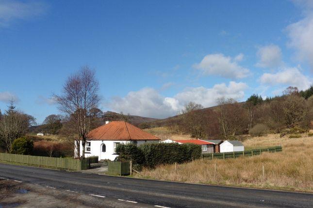 Thumbnail Detached bungalow for sale in Alderburn Cottage Strachur, Cairndow