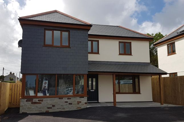 Thumbnail Detached house for sale in Beacon Road, Summercourt, Newquay