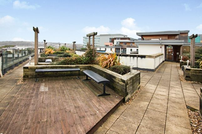 Roof Top Terrace of Chimney Steps, Temple Quay BS2