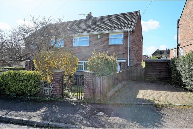 Thumbnail Semi-detached house for sale in Hopsfield, Blandford Forum