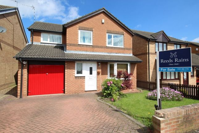 Thumbnail Detached house for sale in Ross, Ouston, Chester Le Street