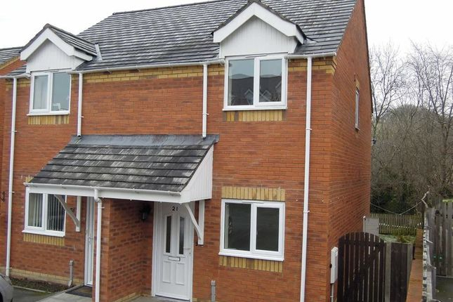 Thumbnail Semi-detached house to rent in 21, Oaklands Park, Barnfields, Newtown, Powys