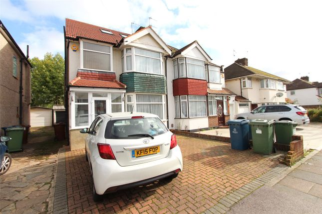 Thumbnail Semi-detached house to rent in Culver Grove, Stanmore, Hertfordshire