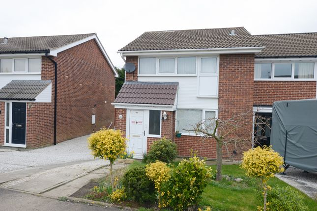 3 bed semi-detached house for sale in Cornwall Drive, Grassmoor, Chesterfield