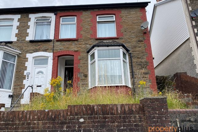 Thumbnail Semi-detached house for sale in Turberville Road Porth -, Porth