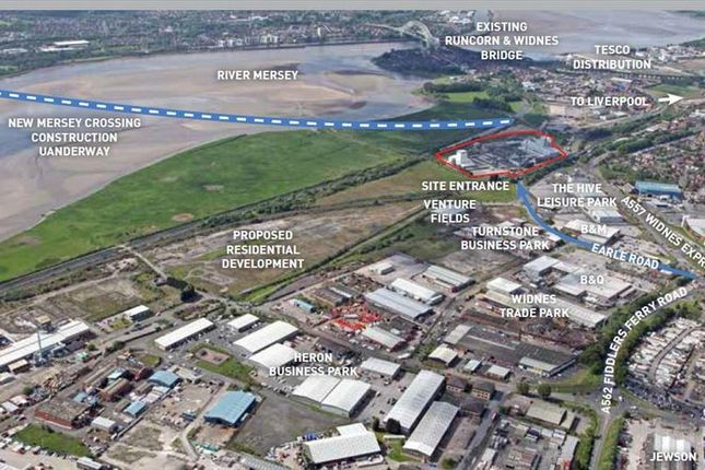 Thumbnail Land to let in Earle Road Business Park, Earle Road, Widnes, Cheshire