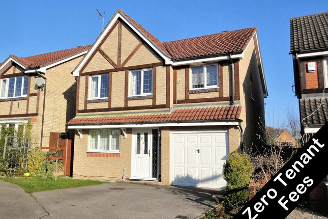 Thumbnail Detached house to rent in Fyfield Close, Whiteley, Fareham