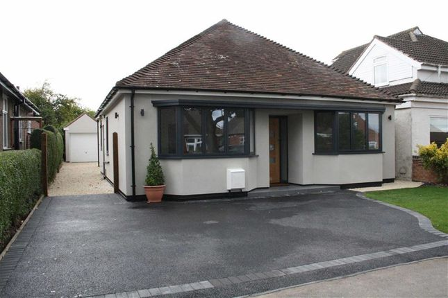 Thumbnail Detached bungalow for sale in Sports Road, Glenfield, Leicester