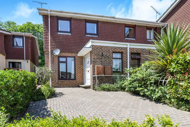 Thumbnail End terrace house for sale in Cedar Close, Kings Worthy, Winchester