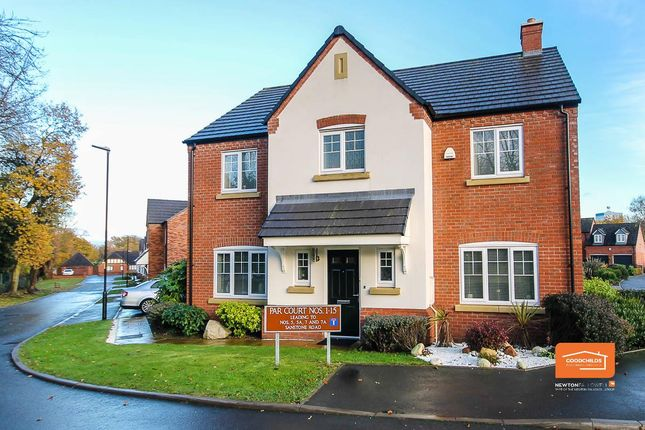 Thumbnail Detached house for sale in Par Court, Bloxwich, Walsall