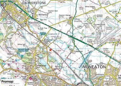 Land To Let In Sewage Cottages Mancetter Road Hartshill