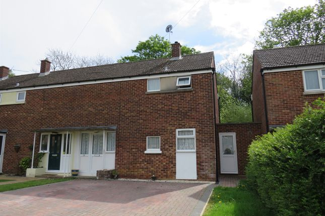Thumbnail Semi-detached house for sale in Woodcote Road, Caversfield, Bicester