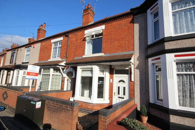 Thumbnail Terraced House For Sale In Croft Road Nuneaton
