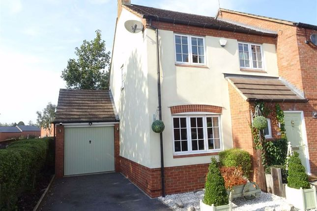 Thumbnail Semi-detached house for sale in Brook Drive, Ratby, Leicester