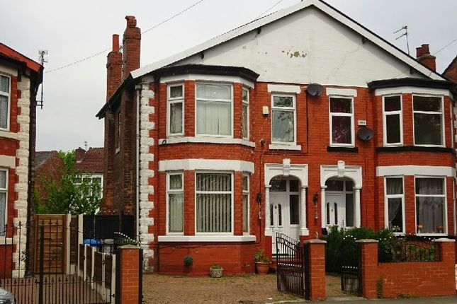 Semi-detached house for sale in Upper Chorlton Road, Old Trafford, Manchester