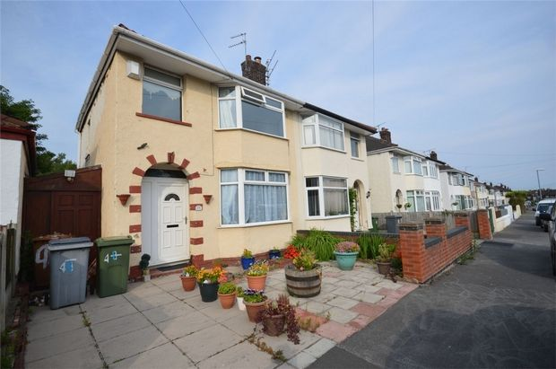 Semi-detached house for sale in Eccleshall Road, Port Sunlight, Merseyside