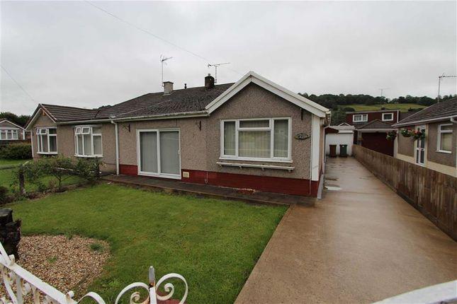 Thumbnail Semi-detached bungalow for sale in Heol Ty-Gwyn, Llanbradach, Caerphilly