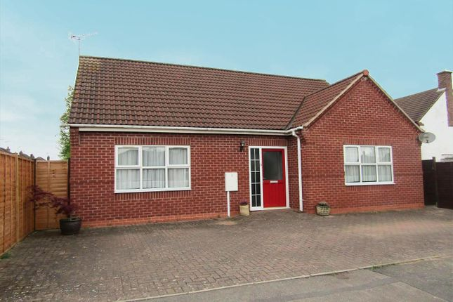 Thumbnail Detached bungalow for sale in Beech Road, Blaby, Leicester