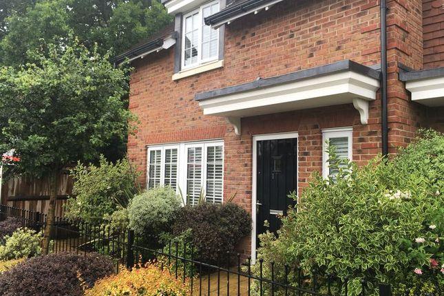 Thumbnail Terraced house for sale in Elmfield Close, Church Crookham, Fleet