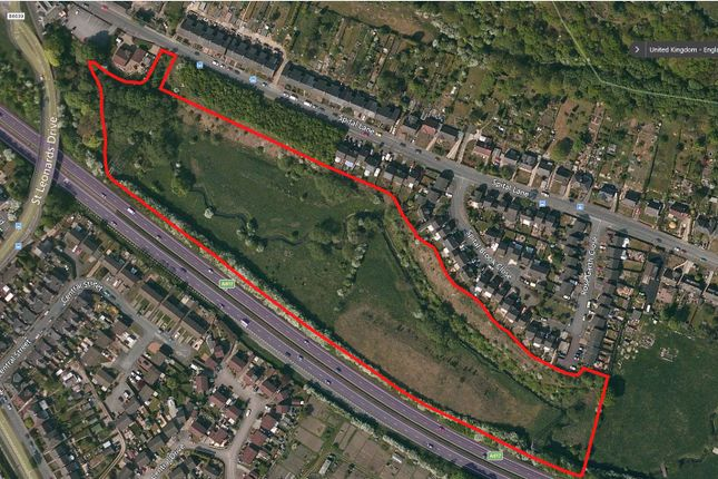 Thumbnail Land for sale in Spital Lane, Chesterfield