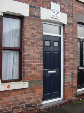 Thumbnail Terraced house to rent in Beeston Road, Dunkirk Nottingham